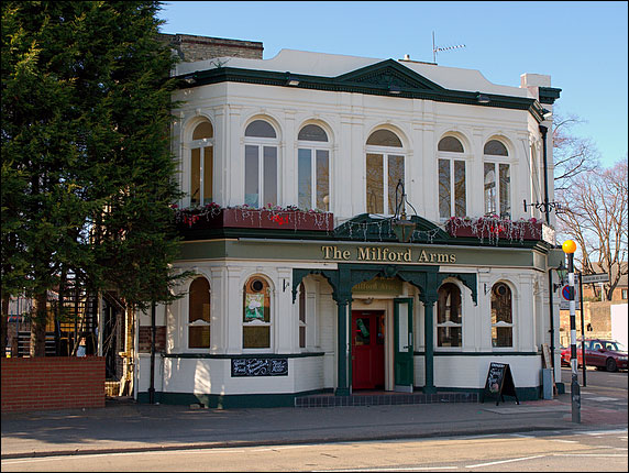 Camra Photograph Of The Milford Arms Isleworth