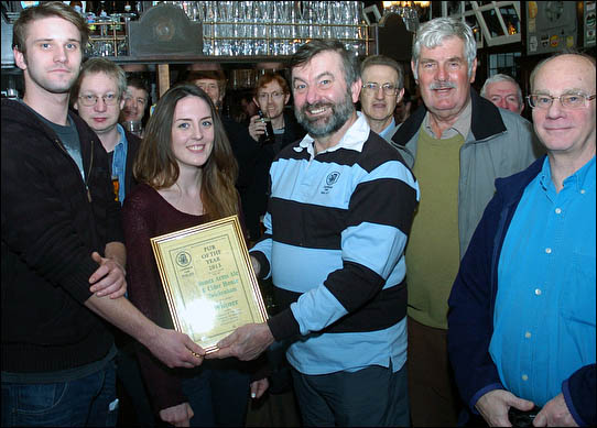 Branch Pub of the Year winner